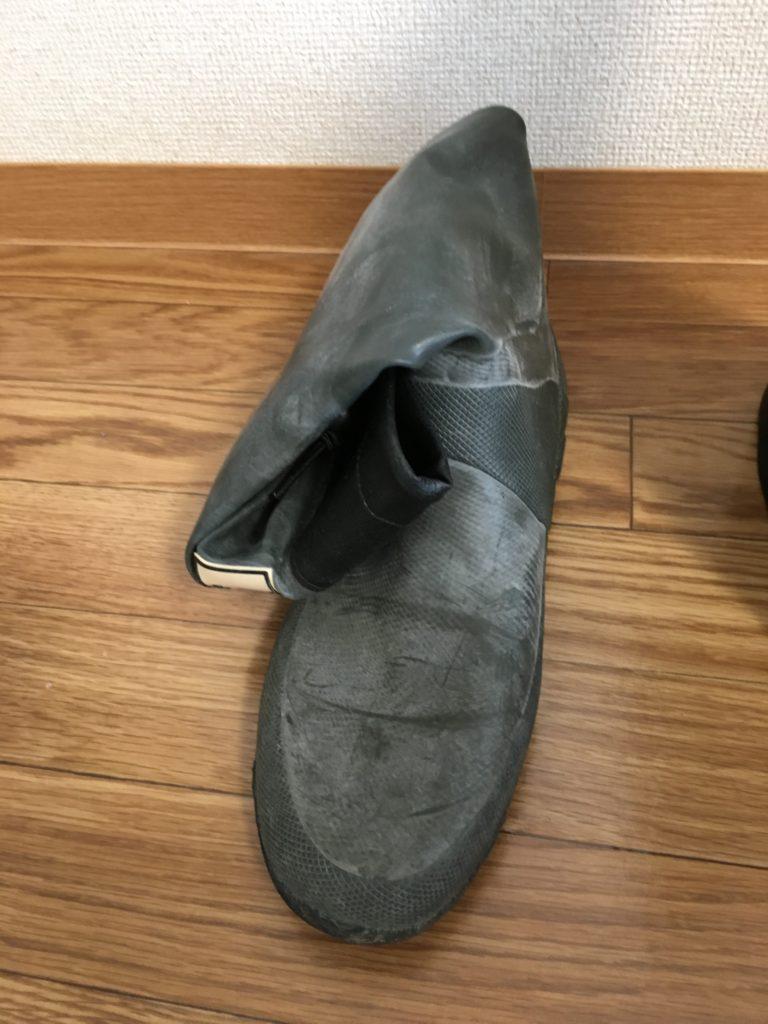 野鳥の会長靴コンパクトに収納 OK