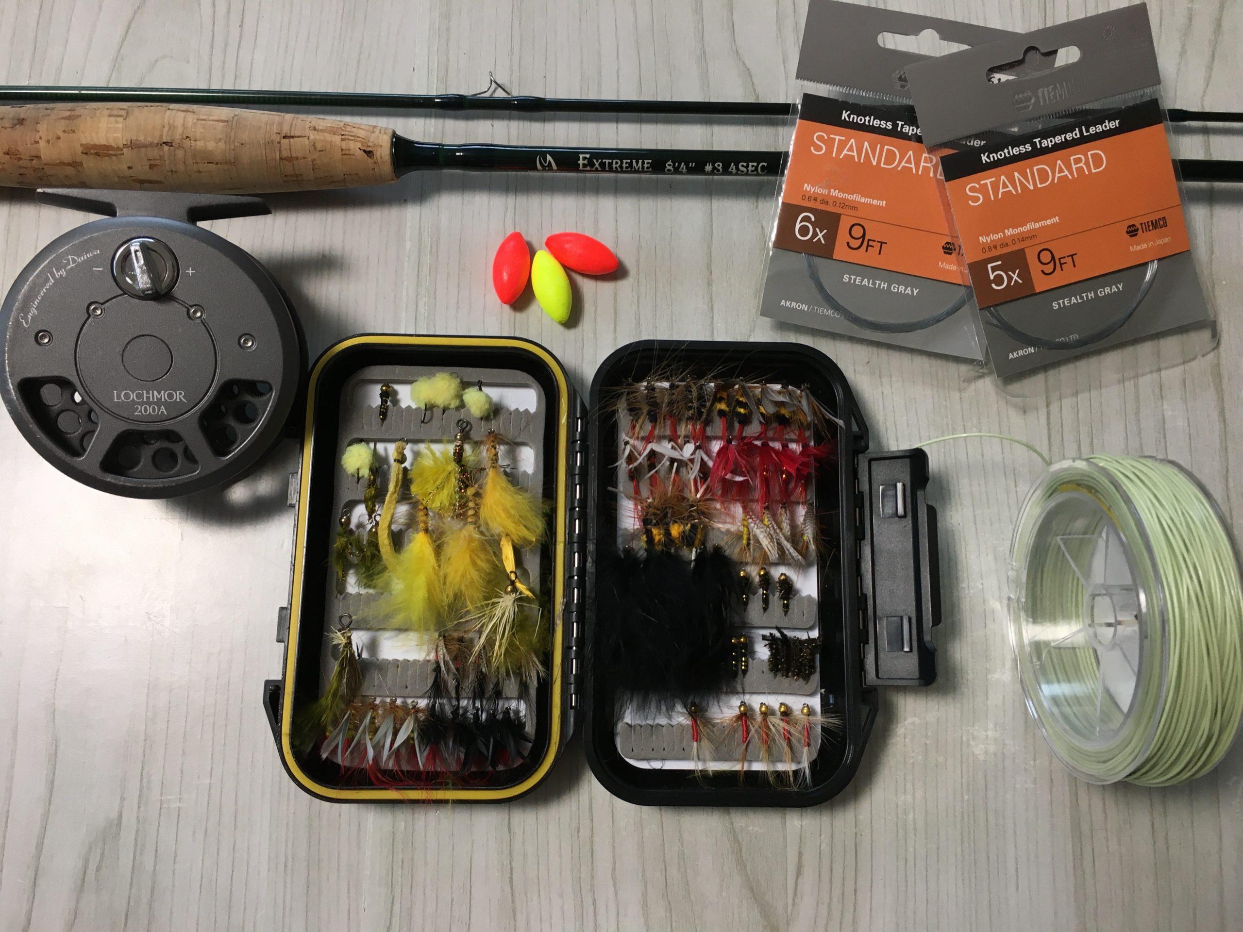 管理釣り場 フライフィッシング 簡単 釣果
