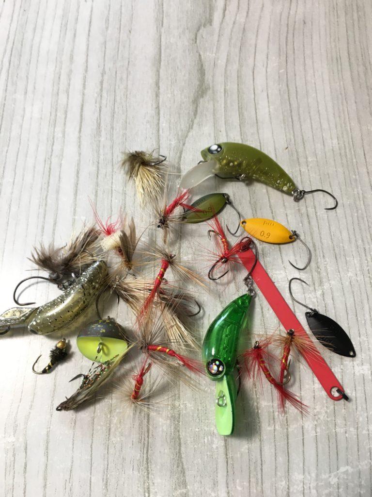管理釣り場フライ簡単