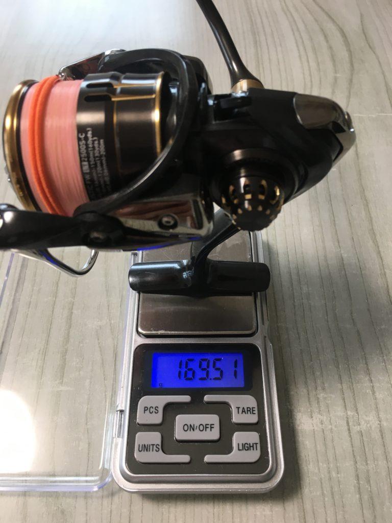 ダイワ バリスティックFWLT1000S-P   管理釣り場 リール 1000番ローギア シマノ