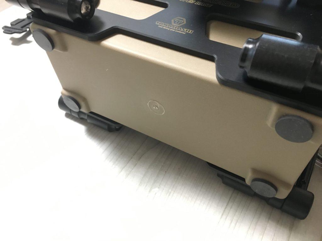 タナハシ製作所 タックルボックス 1312 セミオー ダージョイントホルダー ロッドスタンド 管釣りギア