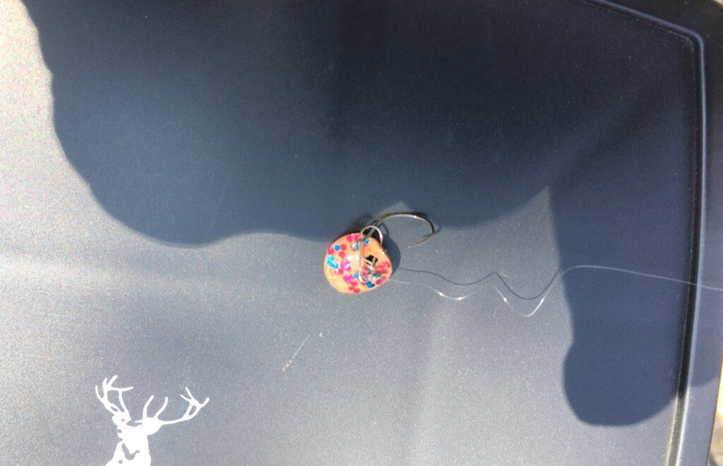 名草釣堀 栃木県足利市 管理釣り場 大物 お食事 持ち帰り レギュレーション フェザージグ 画鋲ルアー ダイソー ピット ブング カラコン
