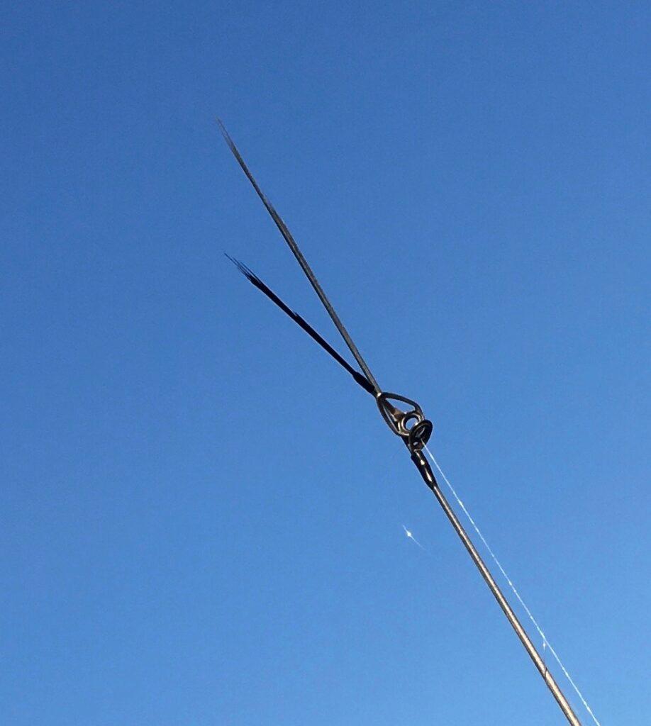 バチプロ 折れた 62tt 62st 60jr mini ロッド 修理 期間 費用 上州屋 釣具店 EMT ティップ ソリッド チューブラー キャスティング ガイド 凍結 リール